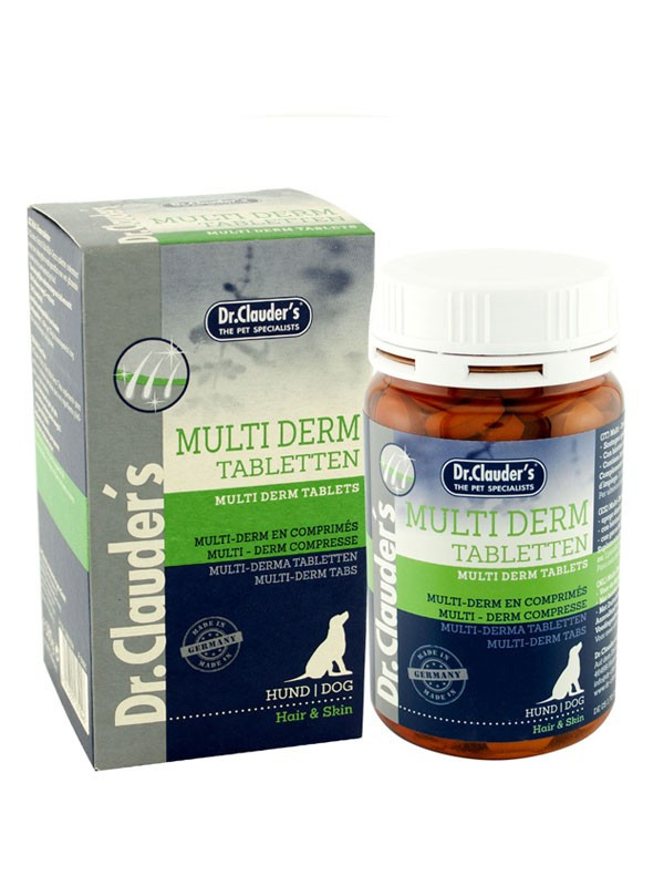 Вітаміни для шкіри та шерсті DC Hair & Skin Multiderm Tabletten 450g
