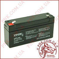 Аккумулятор гелиевый Vipow 6V 3.3Ah (BAT0205)