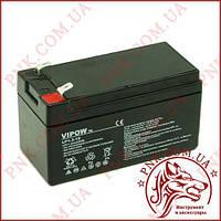 Акумулятор гелієвий Vipow 12V 1.3 Ah (BAT0213)