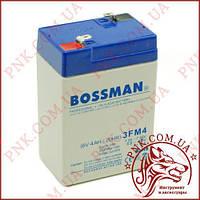 Акумулятор свинцево-кислотний Bossman Profi 6V 4AH 20HR (3FM4)