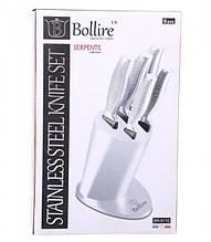 Набор кухонных ножей на подставке 6 пр Bollire BR-6110