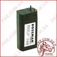 Акумулятор свинцево-кислотний Bossman 4V 0.8 AH/20HR (70*34*22)