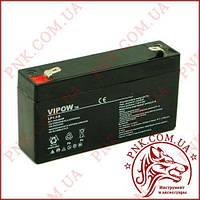 Акумулятор гелієвий Vipow 6V 1.3 Ah (BAT0203)