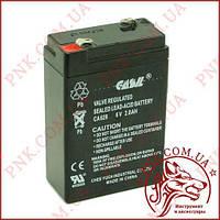 Акумулятор свинцево-кислотний Casіl 6V 2.8 AH (CA628)