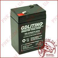 Аккумулятор свинцово-кислотный GDlite 6v 4a