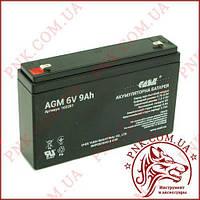 Аккумулятор свинцово-кислотный Casil 6V 9AH (CA690)