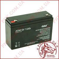 Акумулятор свинцево-кислотний Casіl 6V 12AH (CA6120)
