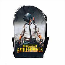 Шкільний Рюкзак PUBG / ПАБГ / ПУБГ з героями гри PlayerUnknown's Battlegrounds