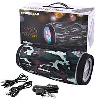 Bluetooth-колонка HOPESTAR-H34, StrongPower, c функцією speakerphone, радіо, Power Bank