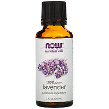 "Эфирное масло лаванды NOW Foods, Essential Oils ""Lavender"" (30 мл)"