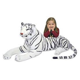 Гігантський білий плюшевий тирг м'яка іграшка ТМ Melіssa & Doug MD13979