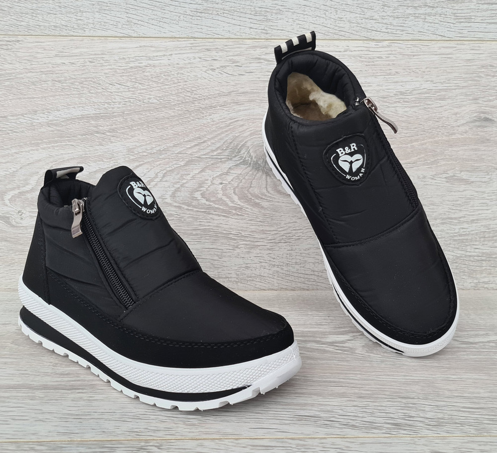 Спортивные женские зимние ботинки - кроссовки (БТ-5б)