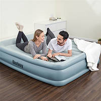 Двуспальная надувная кровать 203х152х46  WiFi, USB-порт Bestway 67708