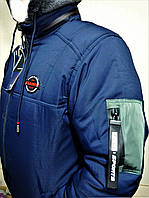 Куртка чоловіча зимова, капюшон з хутром