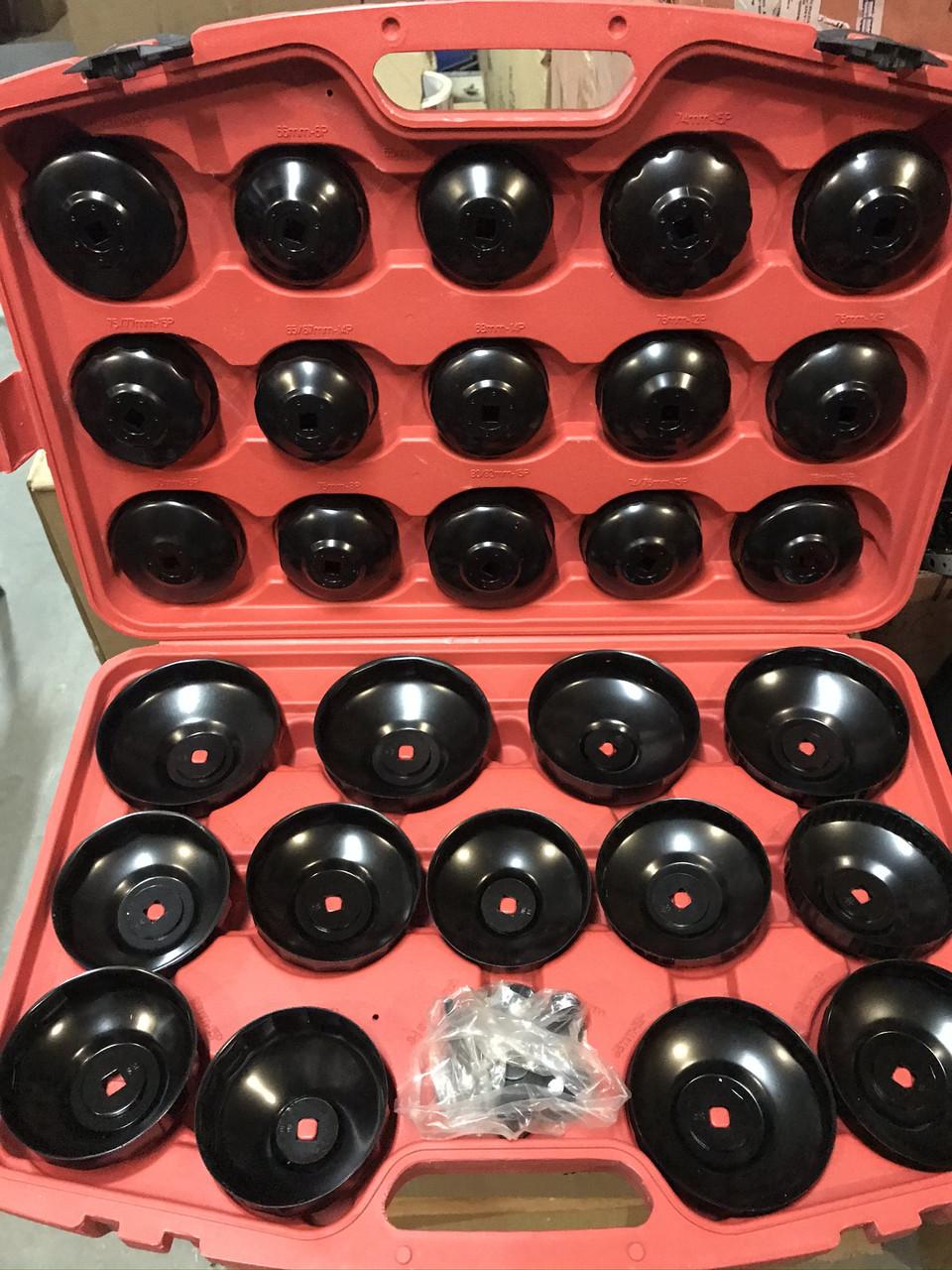 Набір ключів для зняття масляних фільтрів LEX 30 шт