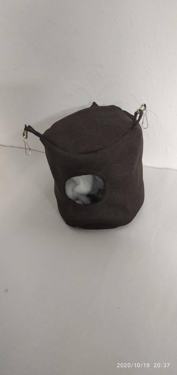 Подвесной домик для крыс, 14*14*14 см, Гамак для Крыс, Гамаки для крыс в Украине, Гамак для крысы