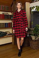 Платье-Рубашка AZ-311-1: S M L XL, фото 1