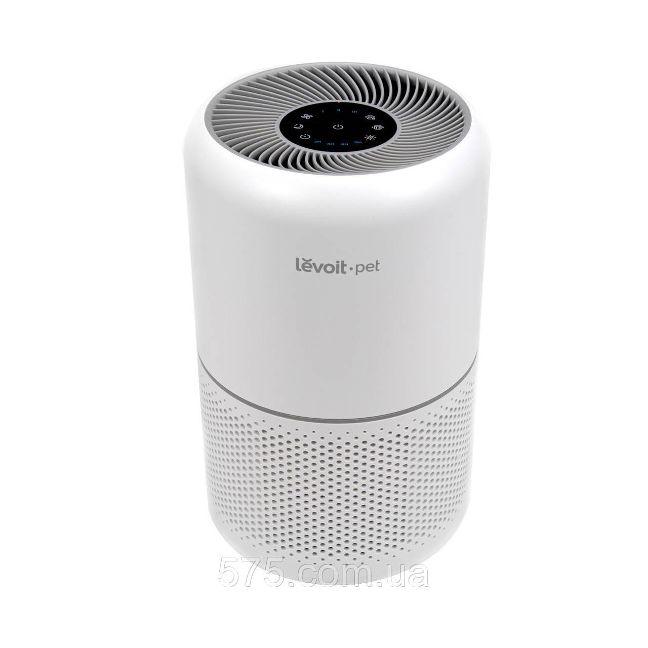 Очиститель воздуха LEVOIT CORE P350-RAC PET CARE с настоящим HEPA-фильтром, 100% без озона, сенсорный экран