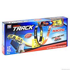 Игрушечный набор Гоночный трек Крутой вираж 230 см. Maya Toys 68825