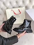 Стильні жіночі черевики ALEXANDER MCQUEEN Tread Slick Черевики (ВЕСНА/ОСІНЬ), фото 2