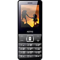 Кнопочный мобильный телефон Astro B245 Dual Sim Black бюджетный телефон недорого дешево
