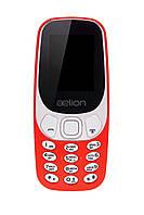 Кнопковий мобільний телефон Aelion A300 Red бюджетний телефон недорого дешево, фото 1