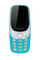 Кнопочный мобильный телефон Aelion A300 Green бюджетный телефон недорого дешево, фото 1