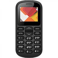 Мобильный телефон бабушкофон Nomi i187 Black громкий простой бюджетный телефон крупные кнопки и шрифт