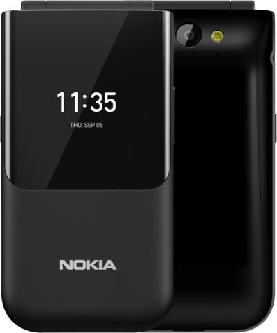 Мобільний телефон розкладачка Nokia 2720 Flip Black (s-235015)