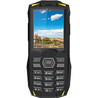 Захищений протиударний кнопковий телефон Blackview BV1000 Black Yellow