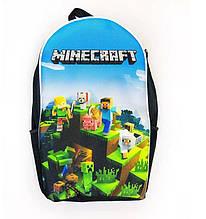 Рюкзак Шкільний Minecraft Ранець з популярної гри Майнкрафт