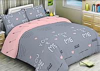 """Семейный комплект постельного белья """"Ранфорс"""" хлопок 100% (15575)"""