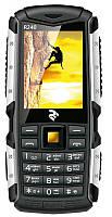Захищений протиударний кнопковий телефон 2E R240 Dual Sim Black