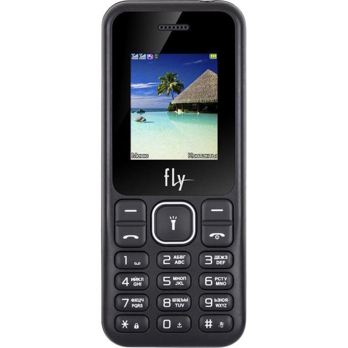 Кнопочный мобильный телефон Fly FF190 Dual Sim Black