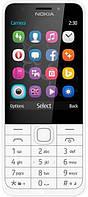 Кнопковий мобільний телефон Nokia 230 Dual Sim Silver (6260265), фото 1