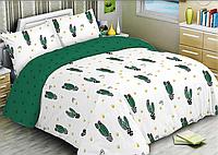 """Семейный комплект постельного белья """"Ранфорс"""" хлопок 100% (15590)"""