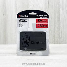 """Внутрішній накопичувач SSD KINGSTON A400 480GB 2.5"""" SATAIII"""