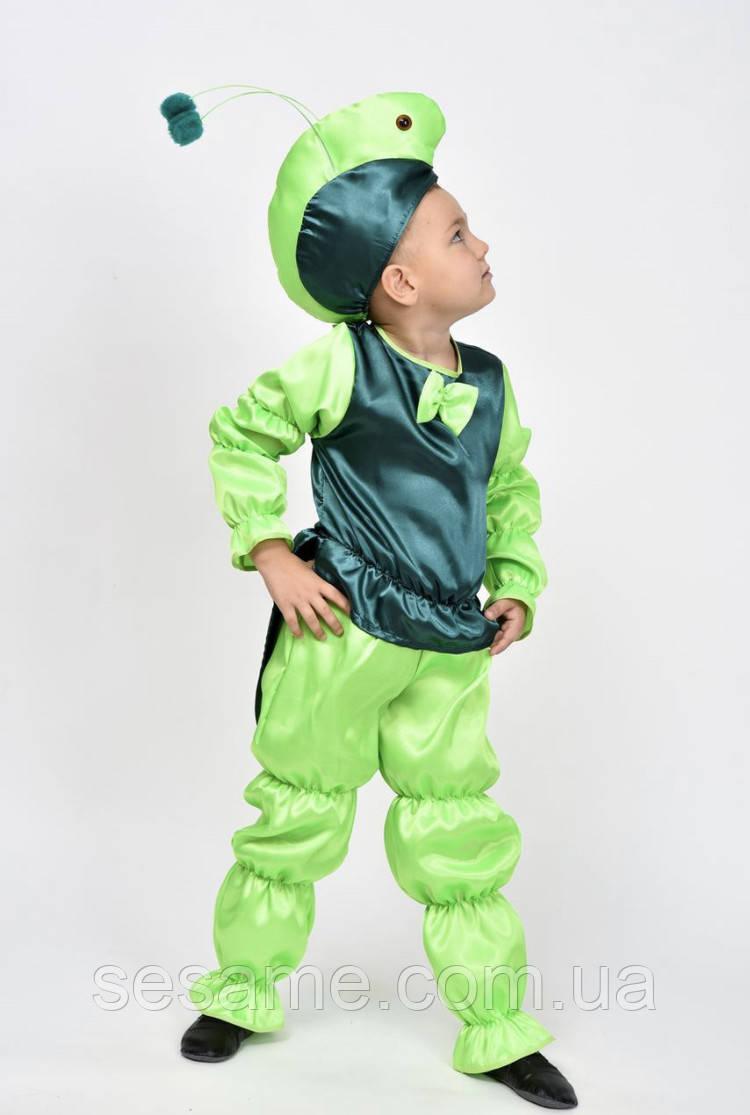Кузнечик детский карнавальный костюм