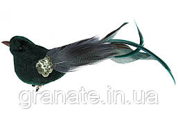 Декоративная птица на клипсе 17см (12 шт)