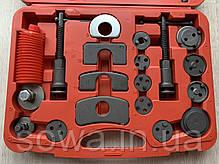 Набір інструментів для швидкої заміни гальмівних колодок Lex 21PCS, фото 2