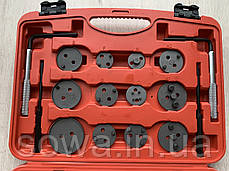 Набір інструментів для швидкої заміни гальмівних колодок Lex 21PCS, фото 3