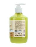 Жидкое мыло Зеленая Аптека 460г миндаль+овсяное молочко с дозатором, фото 2
