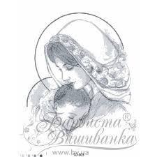 Картинка під вишивку бісером Марія з дитям