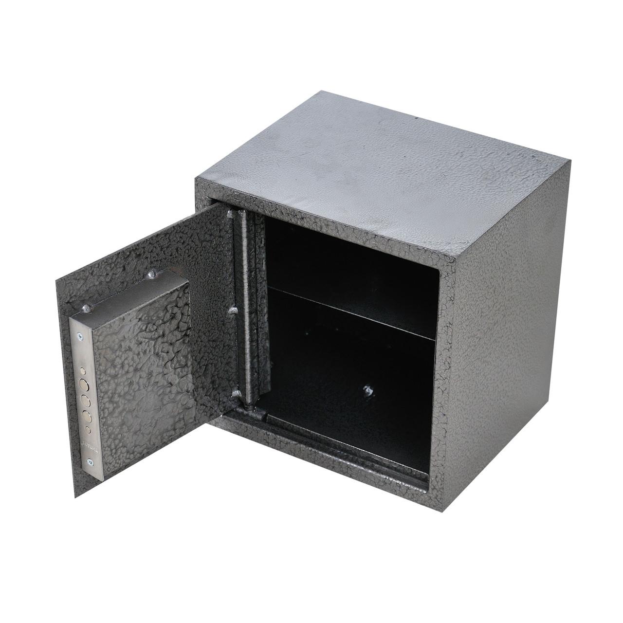 Сейф меблевий металевий для грошей паперів документів 25х25х20 см