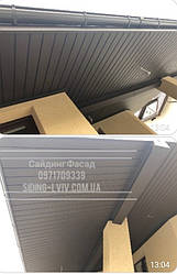 Купити софіти для підшивки даху. Софити для даху. Софіти перферований , без перфорації для підшивки покрівлі даху у Львові