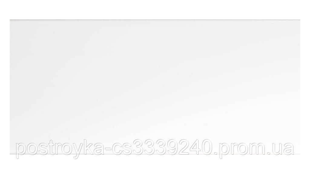 Стрічка декоративна на карниз, бленда Біла 70 мм на посилений стельовий карниз КСМ