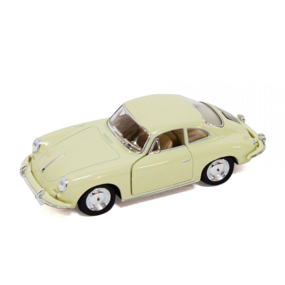 Игрушечная машинка металлическая Kinsmart KT5398W Porsche 356B Carrera Бежевый