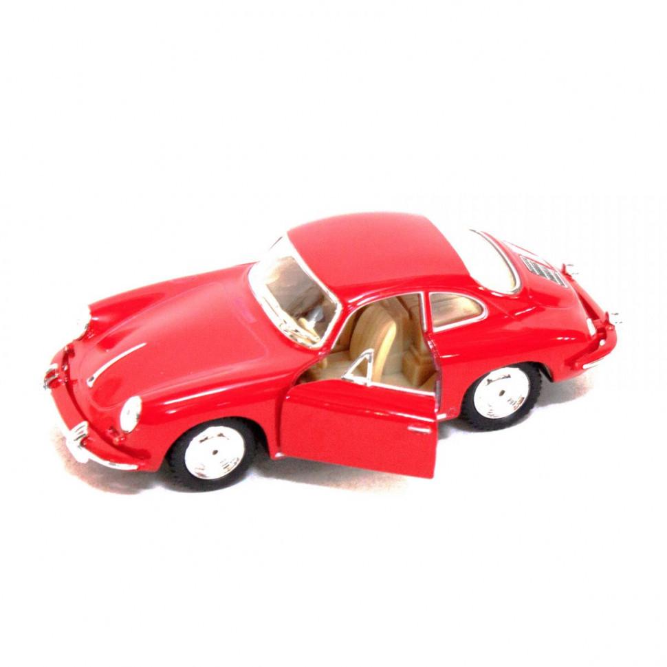Игрушечная машинка металлическая Kinsmart KT5398W Porsche 356B Carrera Красный