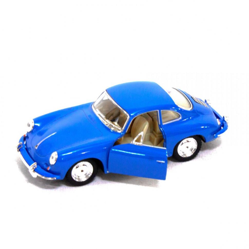 Игрушечная машинка металлическая Kinsmart KT5398W Porsche 356B Carrera Синий