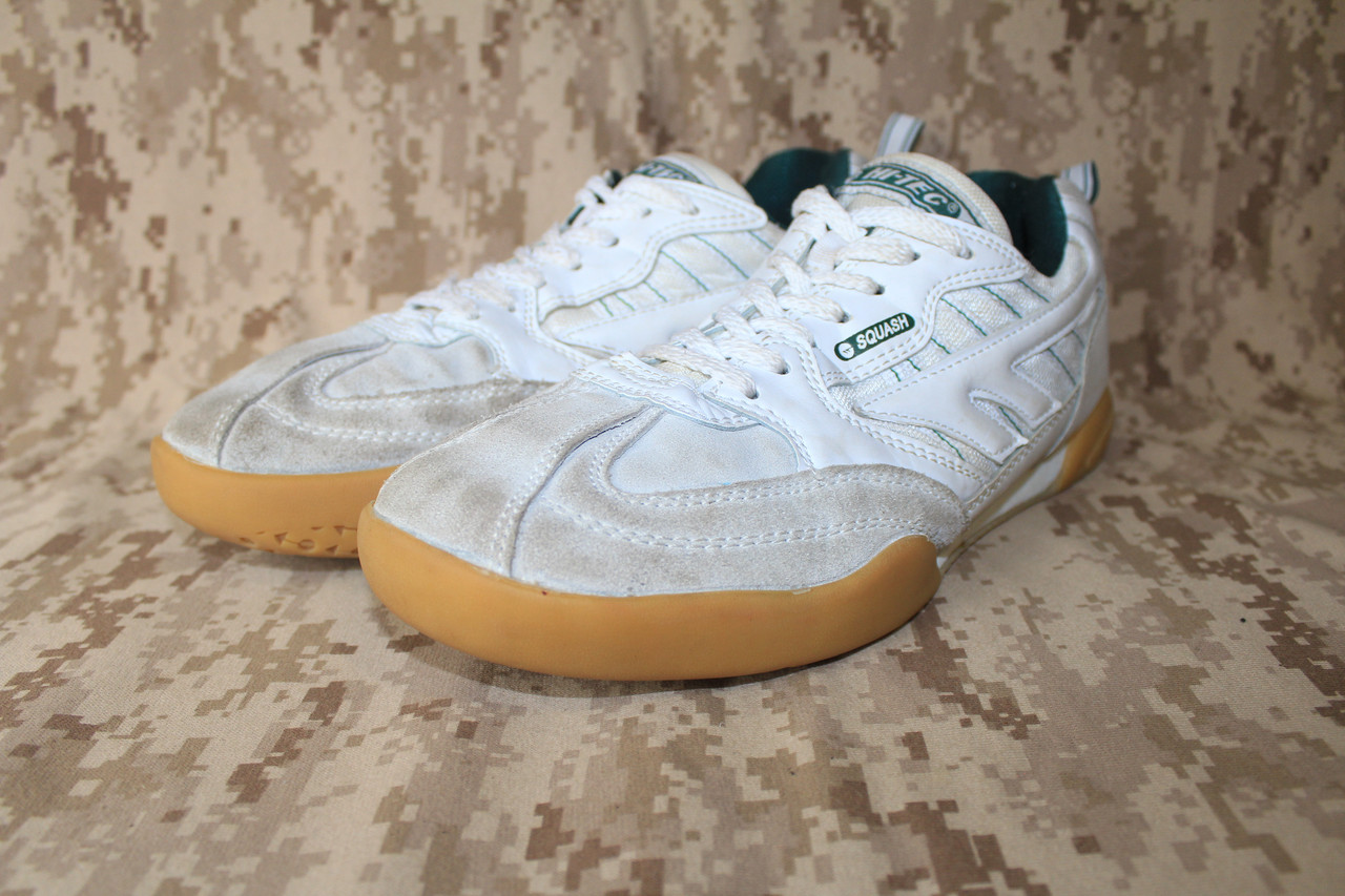 Кроссовки EU 44 Hi-Tec Squash Indoor Court Shoes Б/У - White - Лот 109